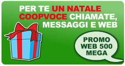 Carta Natale CoopVoce 2012