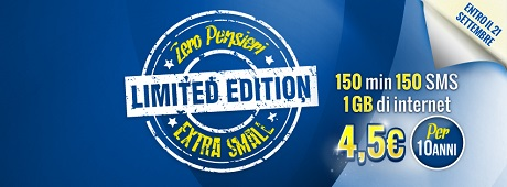 Zero Pensieri Extra Small Limited Edition