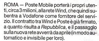 PosteMobile Wind