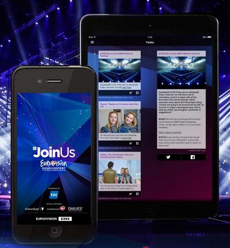 App Eurovision 2014