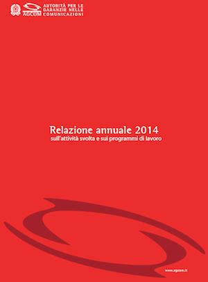 Relazione annuale 2014 AGCOM
