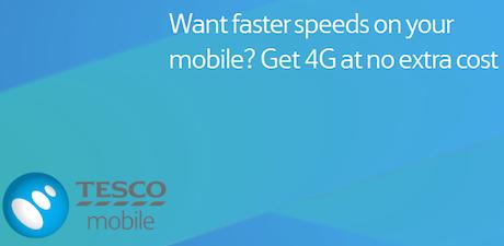 Tesco Mobile 4G