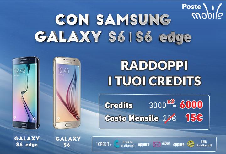 Promo PosteMobile Samsung S6