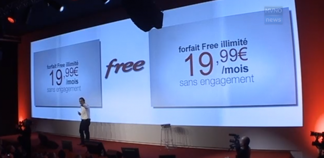 Lancio Free Mobile