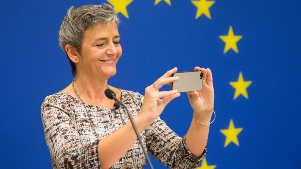 Vestager: grazie a Iliad scongiurato rischio aumento prezzi in Italia