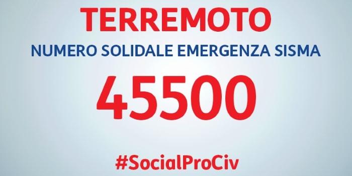 Emergenza Sisma 45500