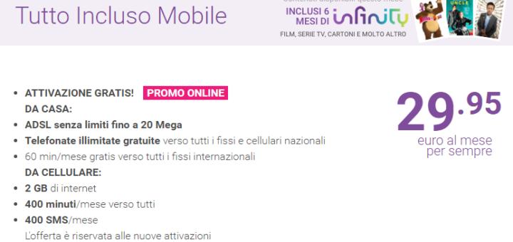 Tiscali Tutto Incluso Mobile