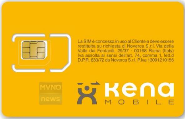 Kena Mobile Ecco Le Prime Immagini Della Sim