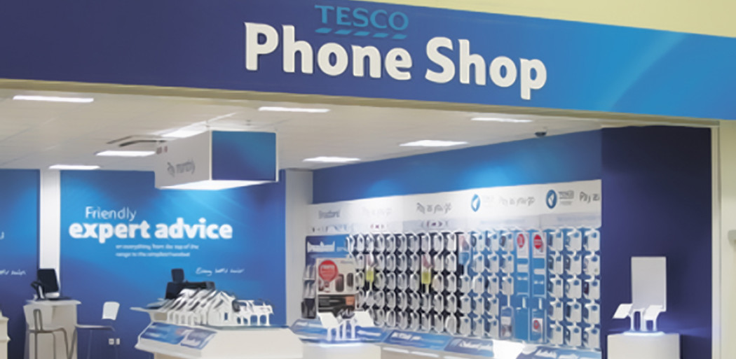 Tesco Mobile Store