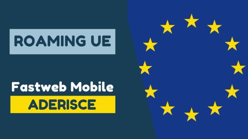 Fastweb Mobile Roaming UE