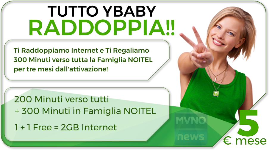 Noitel Mobile TUTTO YBABY