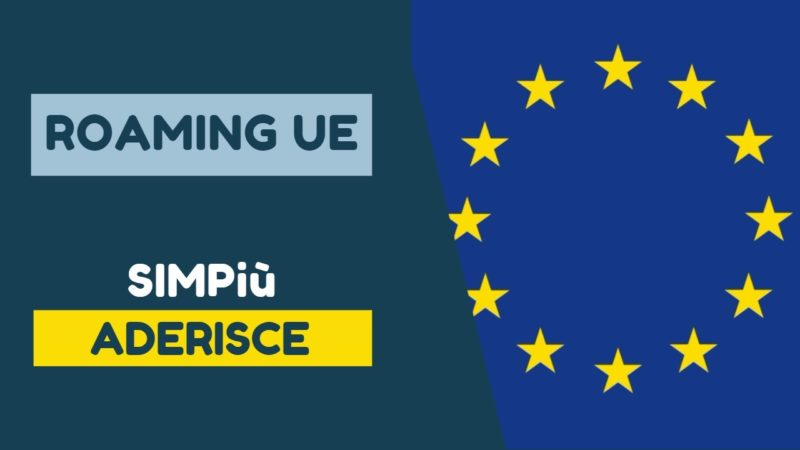 SIMPiù Roaming UE