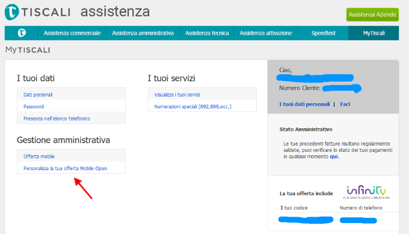 Tiscali Mobile Ecco Come Personalizzare Le Nuove Offerte Mobile