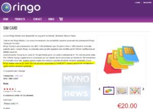 Ringo Mobile eShop