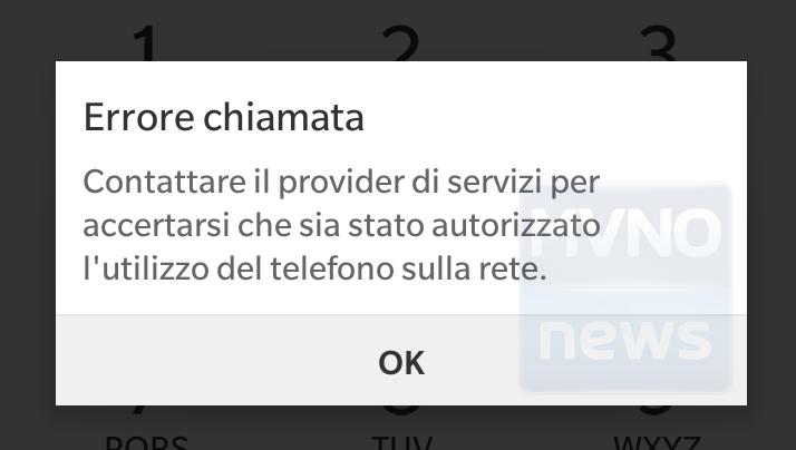 Problema rete Kena Mobile