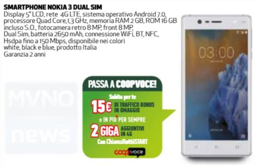 Promo CoopVoce Nokia 3