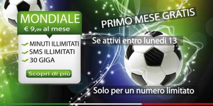 Promo Mondiale Rabona Mobile