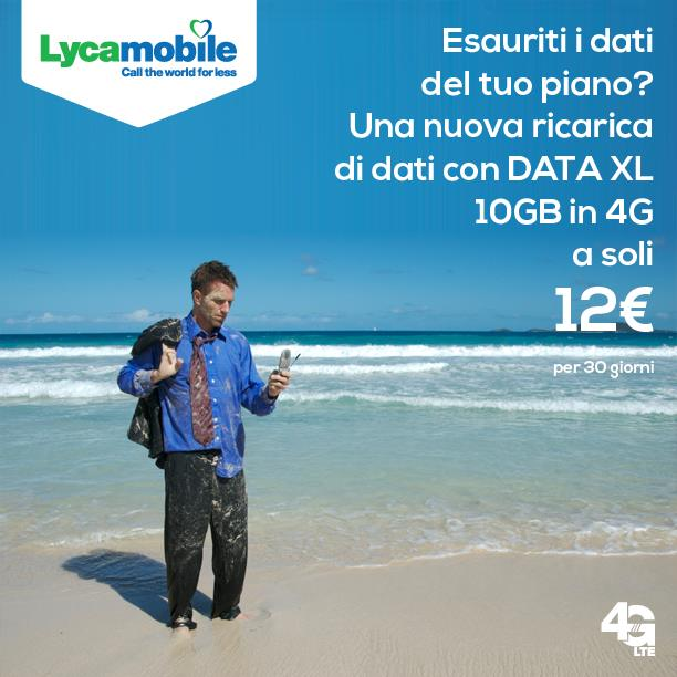 Lycamobile Data XL