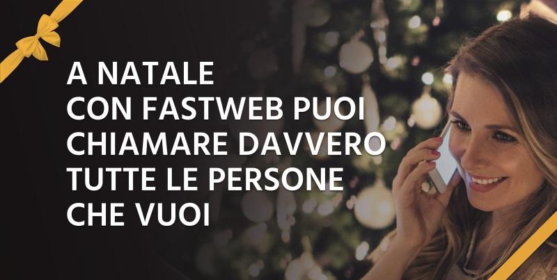 Promo Natale 2017 Fastweb Mobile