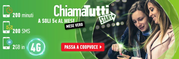 CoopVoce ChiamaTutti Start+