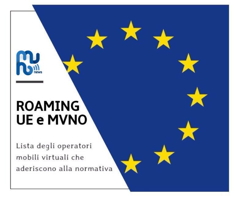 Roaming in UE e MVNO