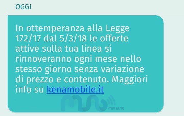 SMS Kena Mobile 31012018