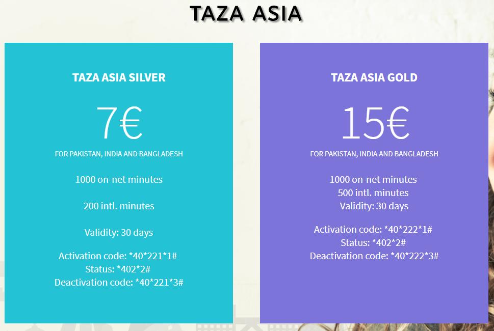 Taza Asia