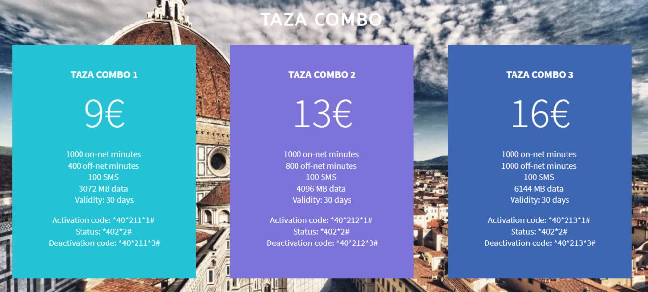 Taza Combo