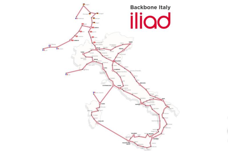 Backbone Italia Iliad