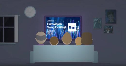 Eurovision 2018 Rai1