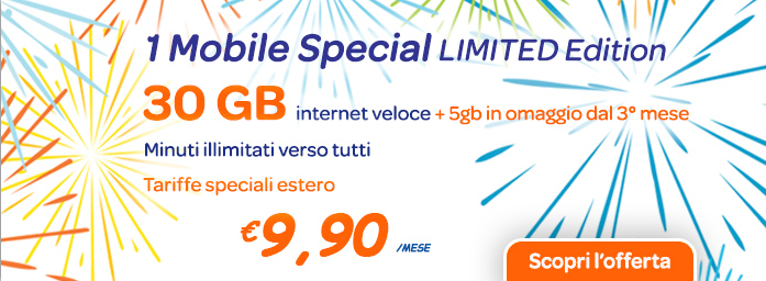 1Mobile Special Limited Edition