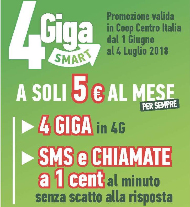 4 Giga Smart CoopVoce