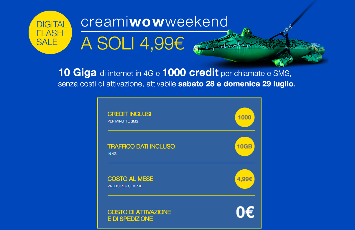 CREAMI WOW Weekend