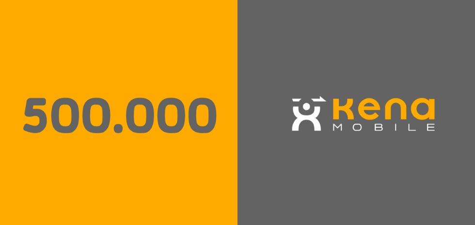 Kena Mobile mezzo milione