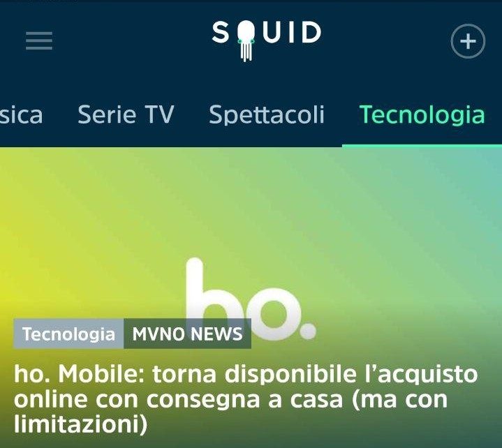 Squid App MVNO News
