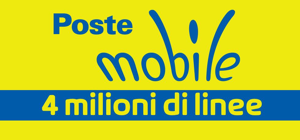 PosteMobile 4 milioni