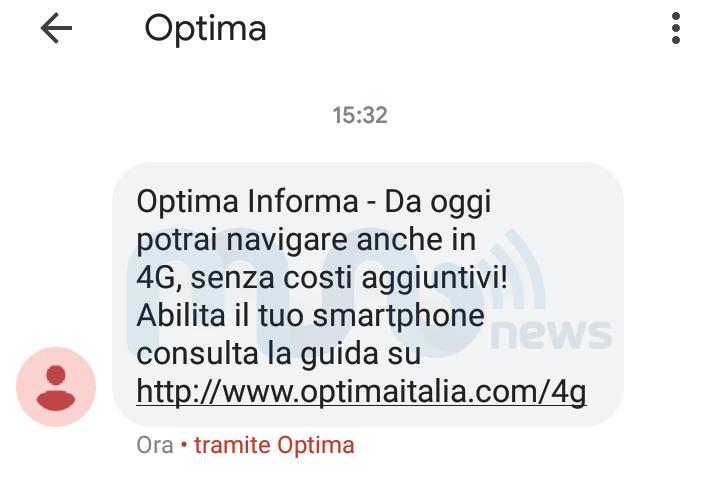 SMS Optima Mobile 4G