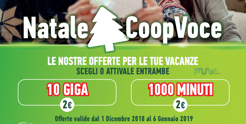 CoopVoce Natale 2018