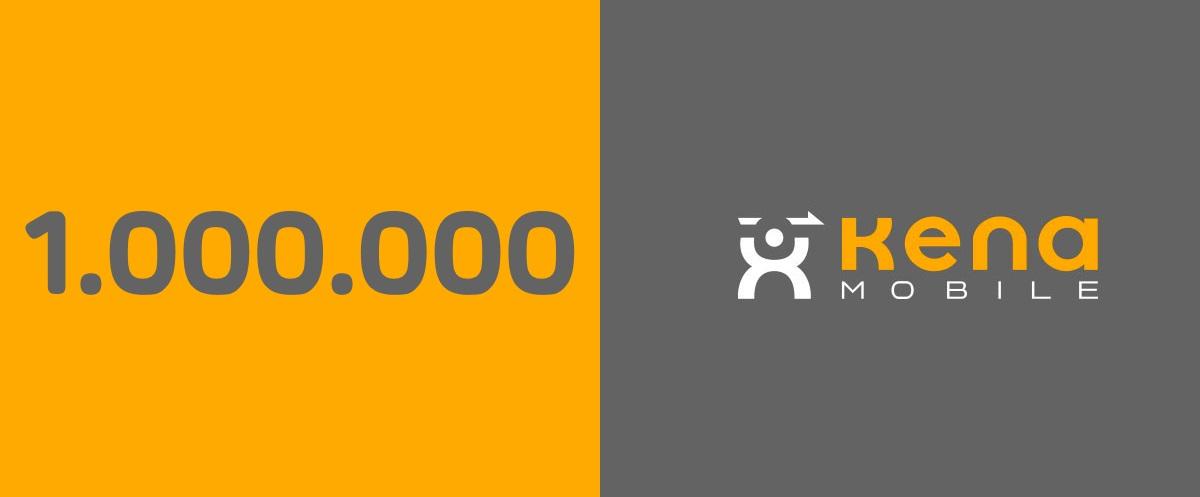 Kena Mobile 1 milione di linee