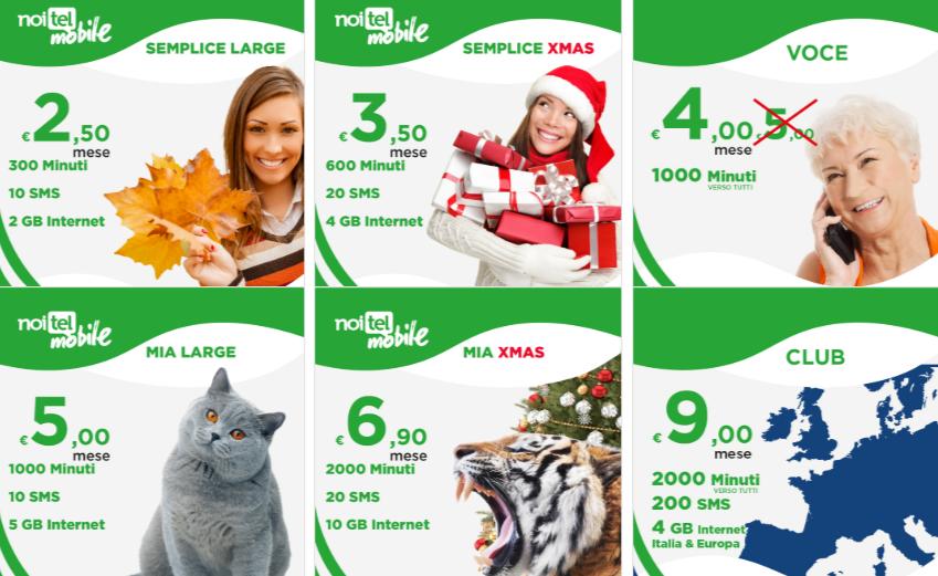 Offerta Noitel Mobile Natale 2018