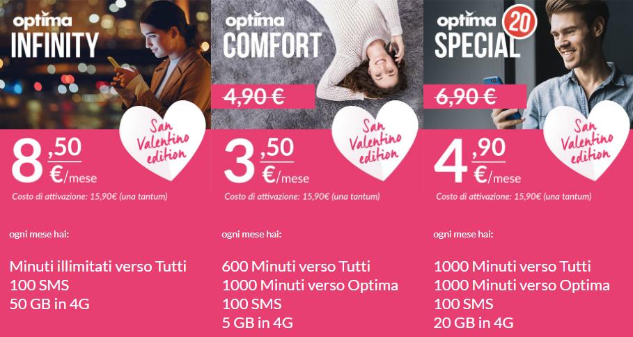 Optima Mobile San Valentino Edition