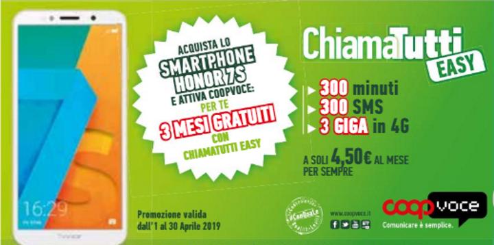 Promo CoopVoce Aprile 2019