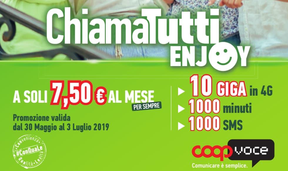Coopvoce 30 Euro Omaggio 2019