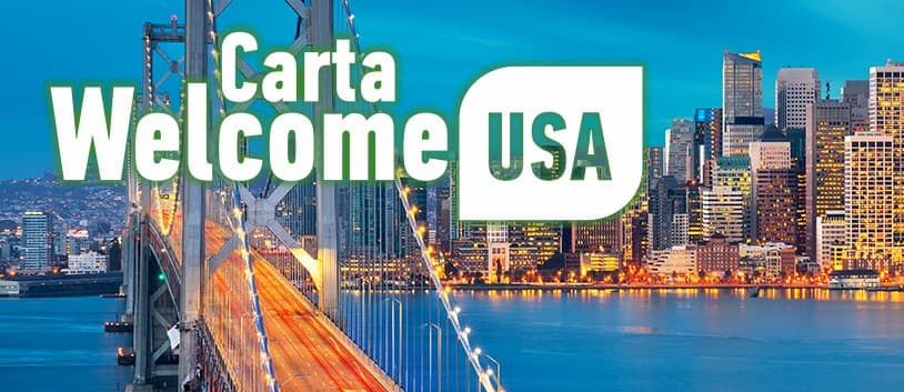 Carta Welcome USA CoopVoce