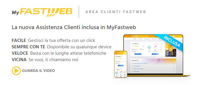 Nuova assistenza Fastweb