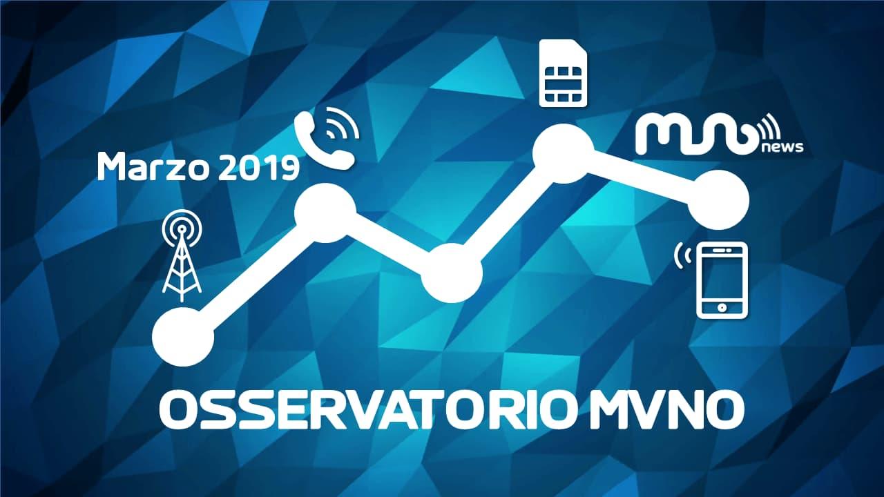 Osservatorio MVNO Marzo 2019