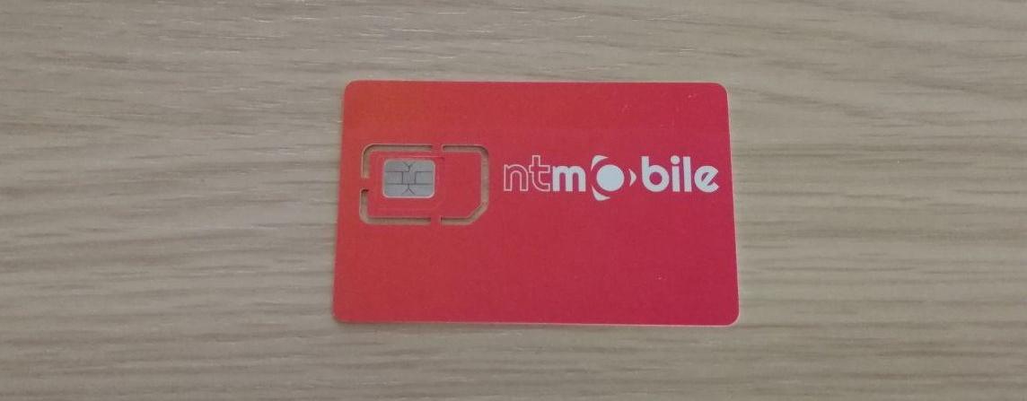 SIM 4G NTMobile