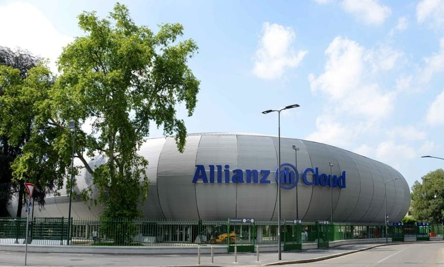 Allianz Cloud Palalido Milano