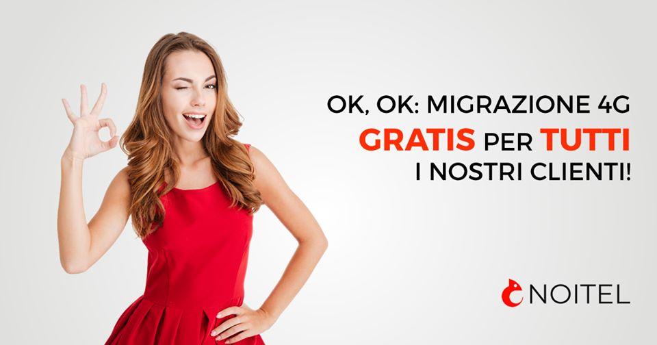Migrazione 4G Noitel Mobile