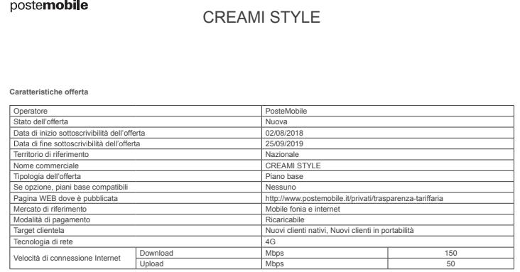 Proroga Creami Style PM